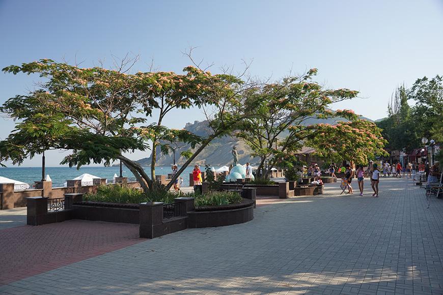 Пляжи в Коктебеле фото