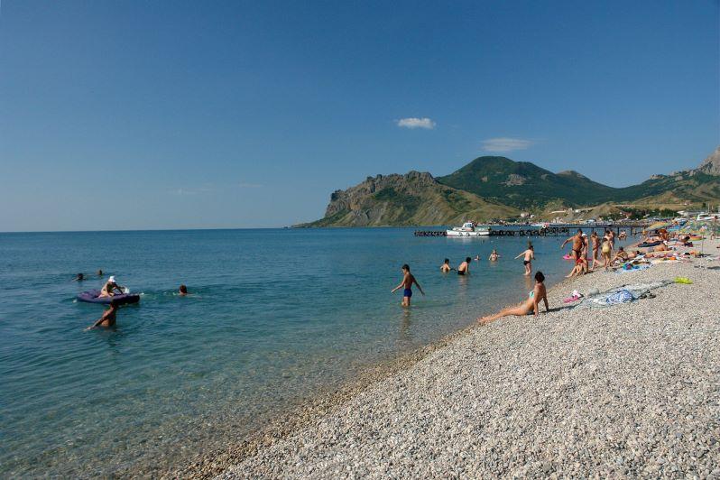 Отдых в Крыму в Коктебеле